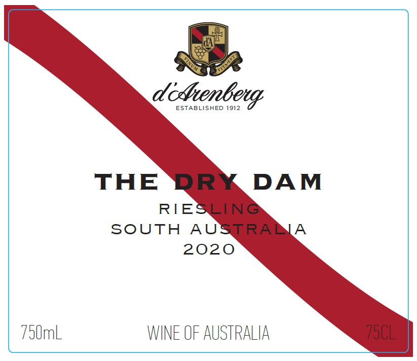 d'Arenberg The Dry Dam Riesling 2020 THUMBNAIL