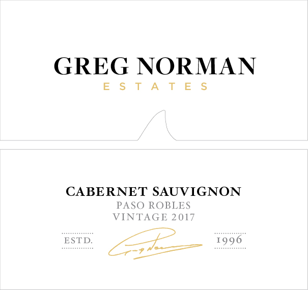 Greg Norman Estates Paso Robles Cabernet Sauvignon 2017 MAIN