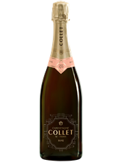Champagne Collet Brut Rose NV MAIN