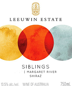 Leeuwin Estate Siblings Shiraz 2017 MAIN