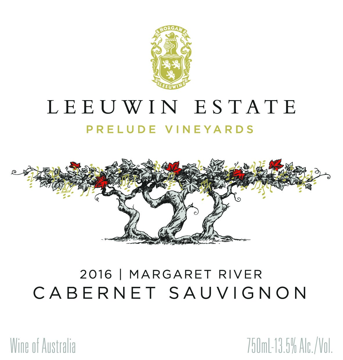 Leeuwin Estate Prelude Vineyards Cabernet Sauvignon 2016 THUMBNAIL