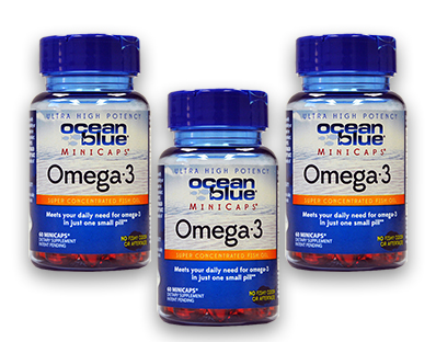 60ct Omega-3 Minicaps Softgels