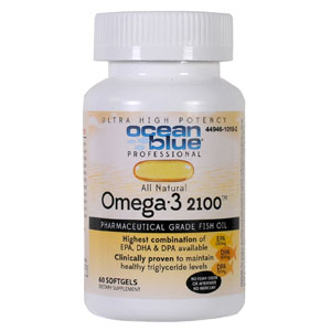 Ocean Blue Professional Omega-3 2100™ Softgels 60ct