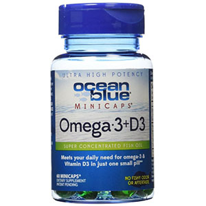 60ct Omega-3+D3 Minicaps Softgels