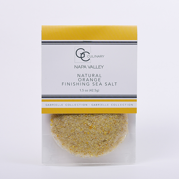 Natural Orange Finishing Sea Salt 1.5oz LARGE