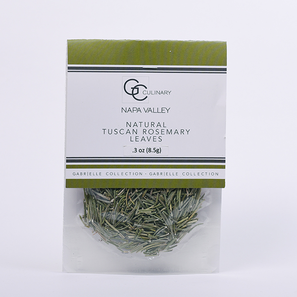 Natural Tuscan Rosemary Leaves .3oz LARGE