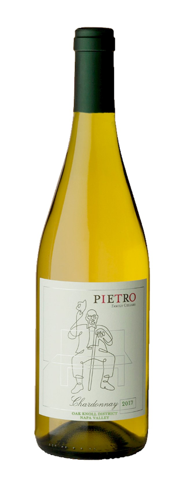 2017 Pietro Family Cellars, Chardonnay, Napa Valley LARGE