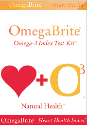OmegaBrite Omega-3 Index Test Kit