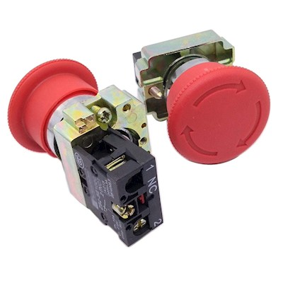 EMERGENCY STOP BUTTON SWITCH (LAY5-BS542) MAIN