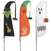Halloween Feather Flags THUMBNAIL