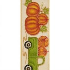 #40 wired Homeward green truck and pumpkins THUMBNAIL