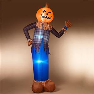 Inflatable Halloween Scarecrow Greeter MAIN