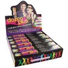 Glow By The Dozen Glow Sticks THUMBNAIL