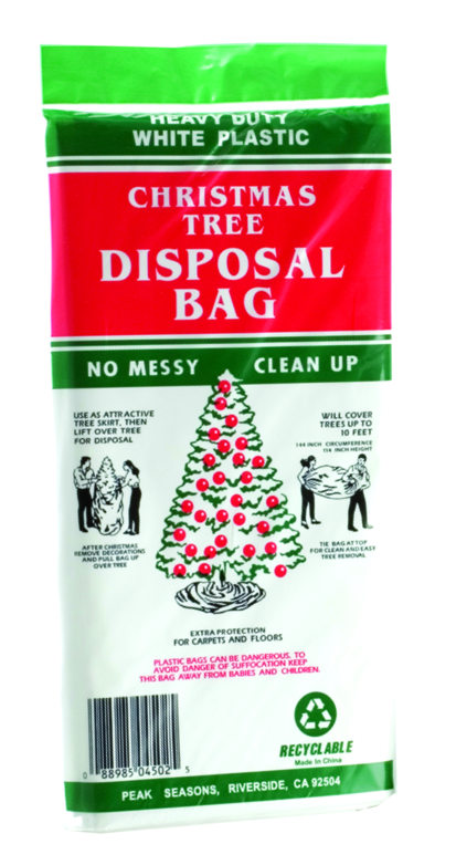 Christmas Tree Bags.Christmas Tree Disposal Bag Large