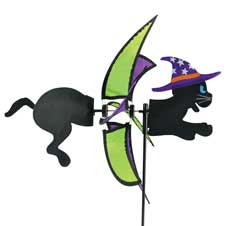 Halloween Cat Wind Spinner THUMBNAIL