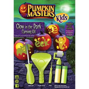 Kids Glow in the Dark Carving Kit MAIN