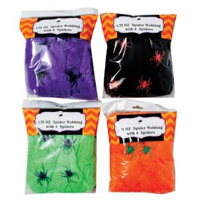 Spider Webbing, Assorted Colors MAIN