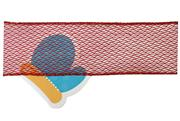 #40 Wired Ribbon Red Open Weave Mesh THUMBNAIL