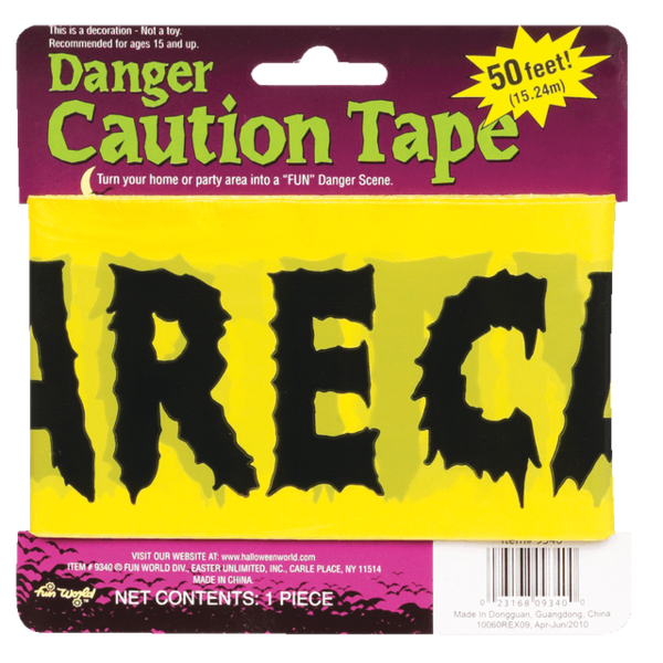Caution Tape SWATCH