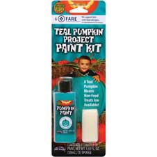 Teal Pumpkin Project Paint Kit THUMBNAIL