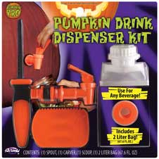Pumpkin Drink Dispenser THUMBNAIL