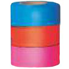 Superior Flagging Tape Numbered Fluorescent BLUE THUMBNAIL
