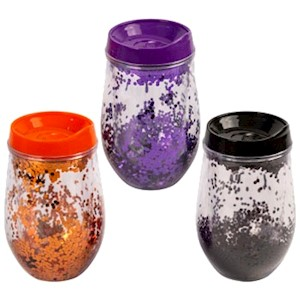 11 oz double wall tumbler w/glitter effect MAIN