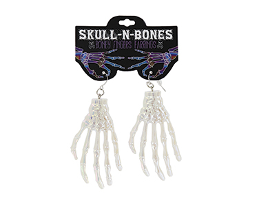 Bad to the bone Skull Earrings SWATCH