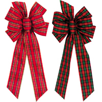 #40 Assorted Plaid Bows MAIN
