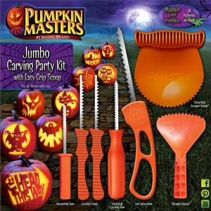 Jumbo Carving Kit with Easy Grip Scoop MAIN