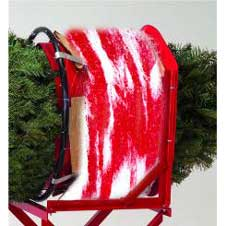 Cross-Town Candy Cane Tree Netting 20 inch THUMBNAIL