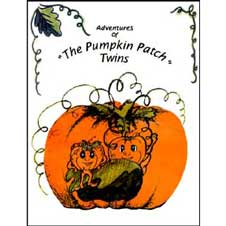 Coloring Book, The Adventures of the Pumpkin Patch Twins THUMBNAIL