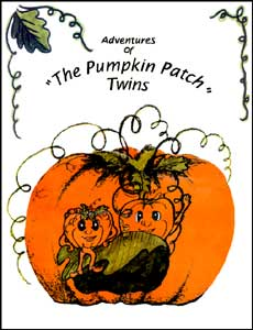 Coloring Book, The Adventures of the Pumpkin Patch Twins MAIN