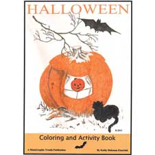 Coloring Book, Halloween THUMBNAIL