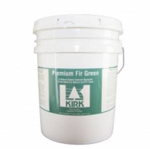 KIRK Natural Tree Colorant - Premium Fir Green Colorant - 5 Gal MAIN
