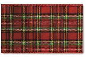 Rockland Plaid Wired Ribbon #40 MAIN