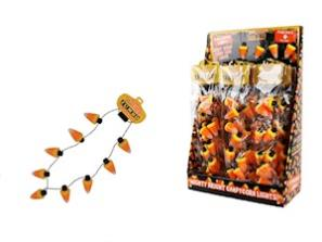 Jumbo Flashing Candy Corn Necklace MAIN