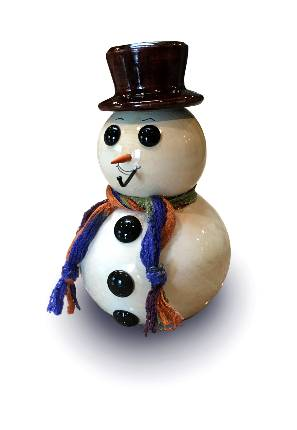 Handcrafted Snowman MAIN