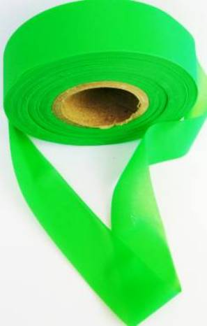Superior Flagging Tape Glo Solid - GREEN MAIN
