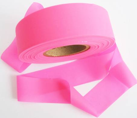 Superior Flagging Tape Glo Solid - PINK THUMBNAIL