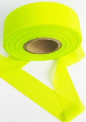 Superior Flagging Tape Glo Solid - YELLOW MAIN