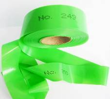 Numbered Flagging Tape - GREEN THUMBNAIL