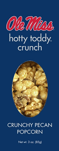 3 oz Box Hotty Toddy Crunch-Crunchy Praline Popcorn
