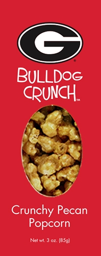 3 oz Box Bulldog Crunch Pecan Popcorn
