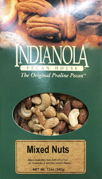 12 oz box Extra Fancy Mixed Nuts THUMBNAIL