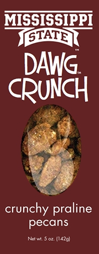 5 oz box Dawg Crunch - Crunchy Praline Pecans MAIN