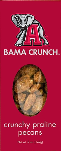 5 oz Box Bama Crunch Praline Pecan