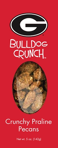 5 oz Box Bulldog Crunch Praline Pecan