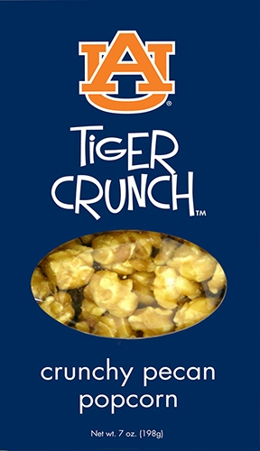 7 oz Box Tiger Crunch Pecan Popcorn