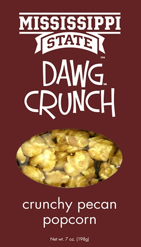 7 oz box Dawg Crunch - Crunchy Praline Popcorn MAIN